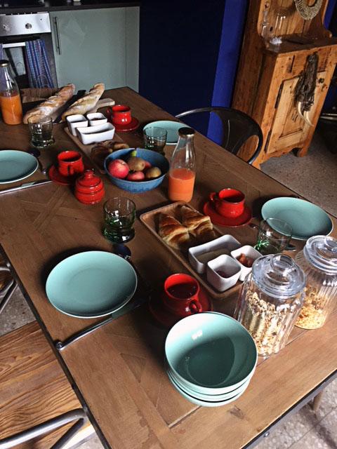 domaine houillon-petit-déjeuner